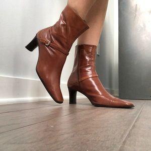 Nine West Lagosta Heeled Bootie - Leather